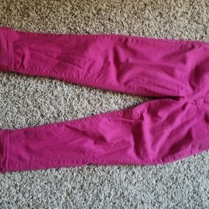 Women's Levi Stratuss Ankle Skinny Hot Pink Jeans